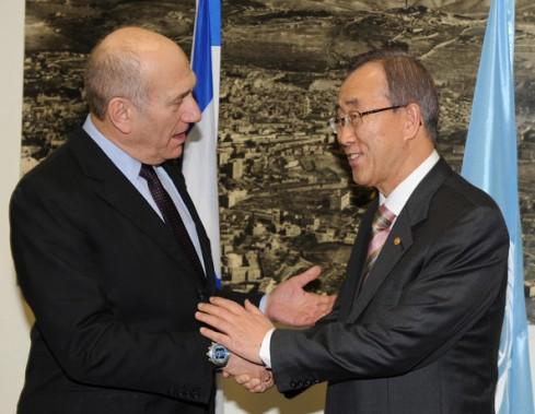 Ehud+Olmert+Diplomatic+Efforts+End+Israel+Brys3MbzKWWl